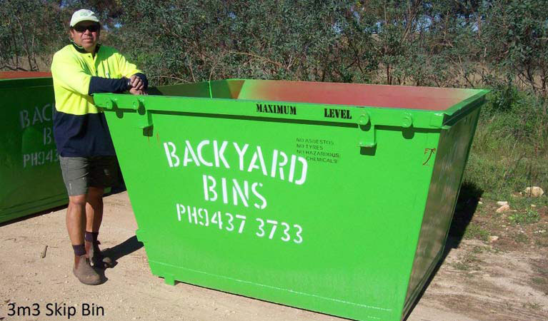 Our 3m3 bin
