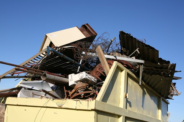 Most types of household waste can go in a skip