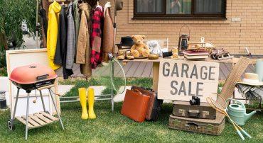 how to garage sale skip bin australia