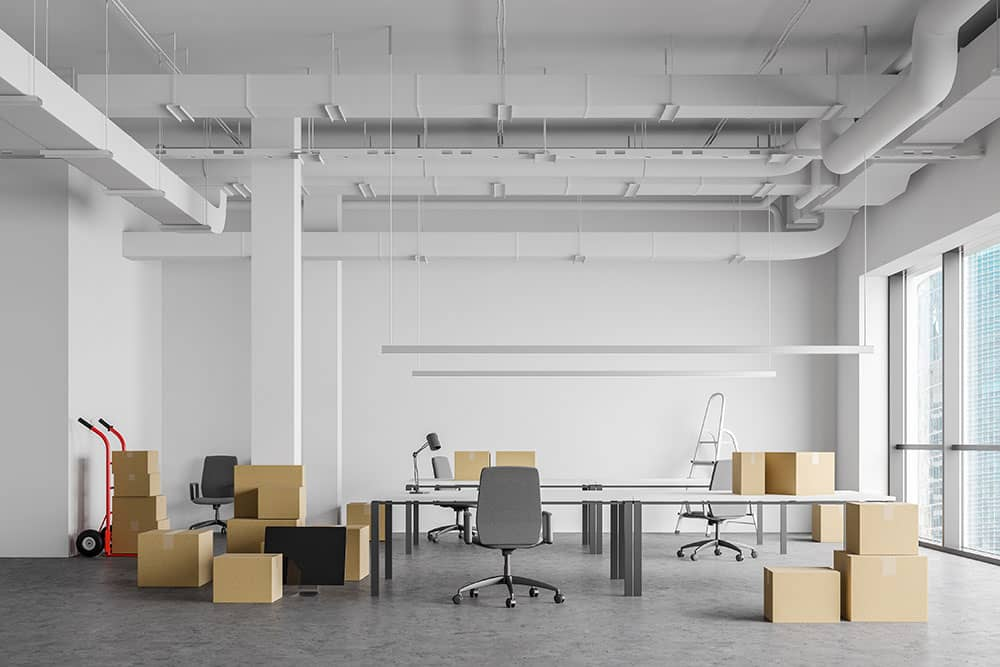 packing and moving offices